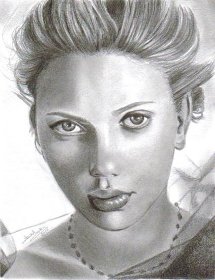 Scarlett Johansson par Pikie